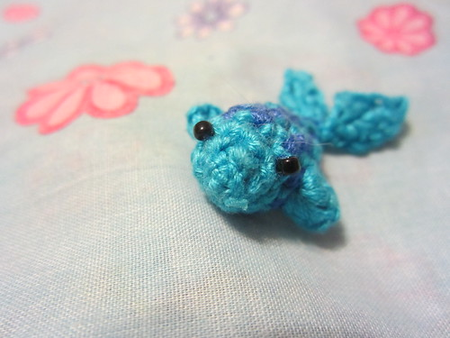 Tiny Amigurumi Fish 2