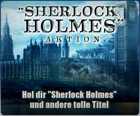 Sherlock Holmes Promo