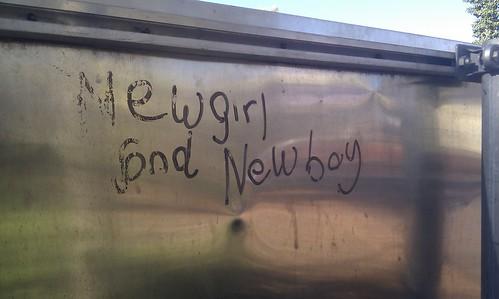 Newgirl and newboy