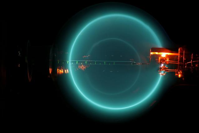 Electron Gun in Magnetic field VI