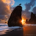 Split Rocks Sunset by Gary J Weathers