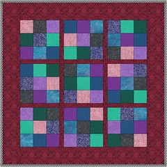 sudoku correctly colored quilt
