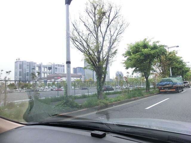 駐車場ルート/ダイバーシティ東京プラザ