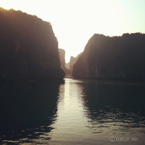 Halong Bay in the morning - Sunrise