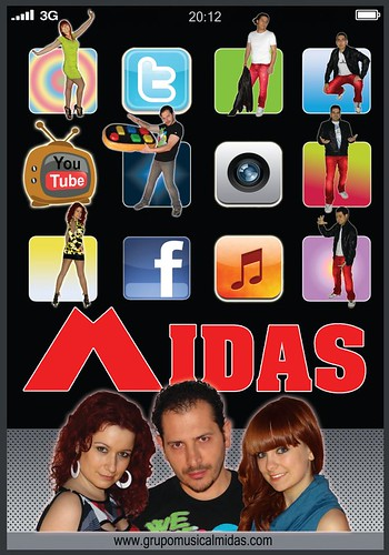 Midas 2012 - grupo - cartel