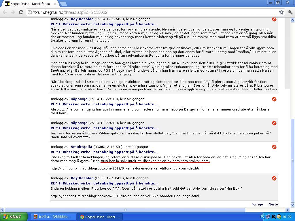 min blogg er et nødprosjekt