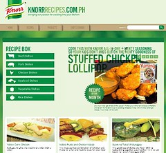Knorr Recipe Website
