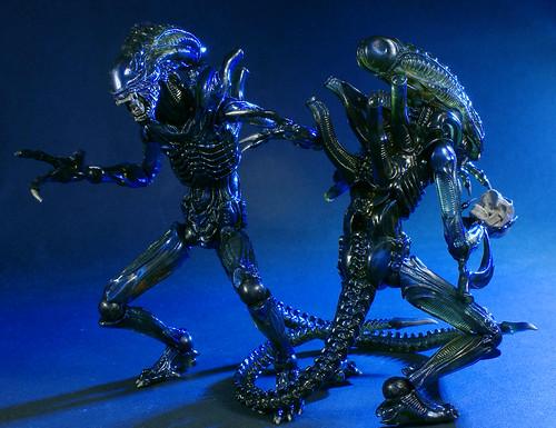 Revoltech Alien Warriors