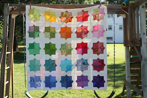 Rainbow Smitten Quilt