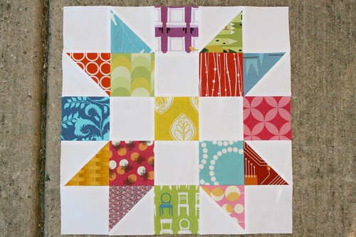May block: do Good. Stitches