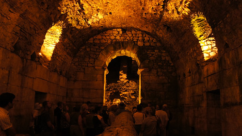 Basement Halls of Diocletian's Palace, Split, Croatia