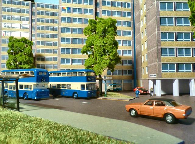 Bradford City Transport Daimler Fleetlines in Bradford