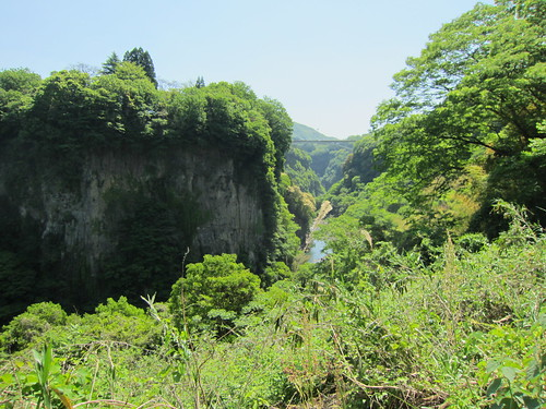 a view in takachiho
