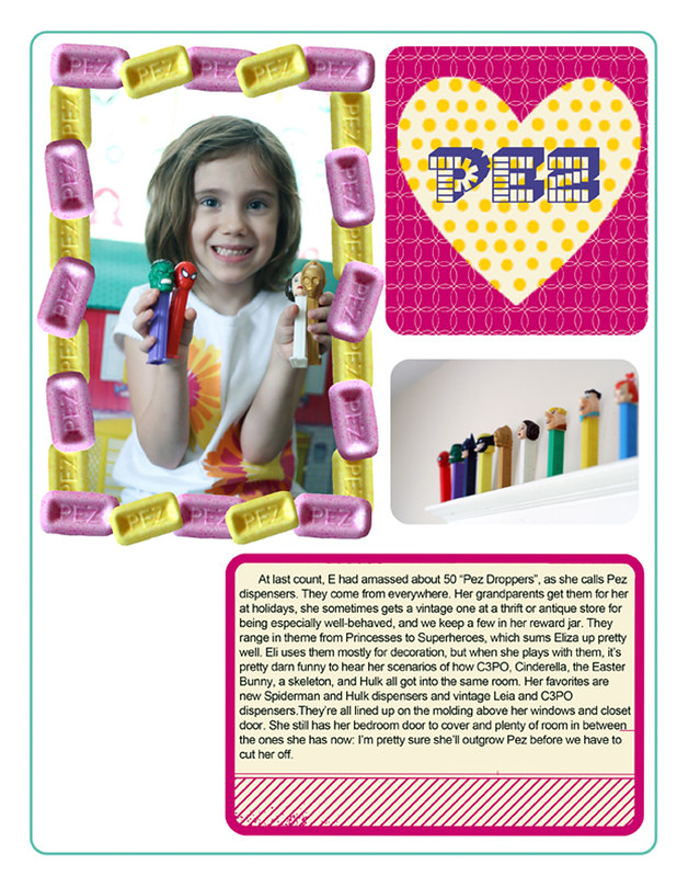 Eliza's Pez Collection | The Digital Part