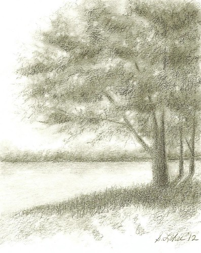 End of Day, graphite