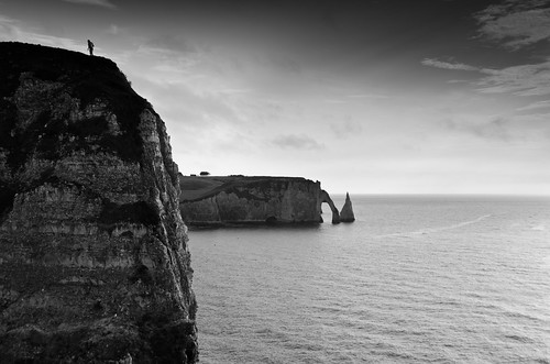 Etretat evening