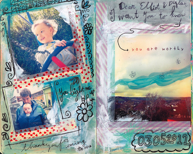 Dylan & Elliot Art Journal - p1
