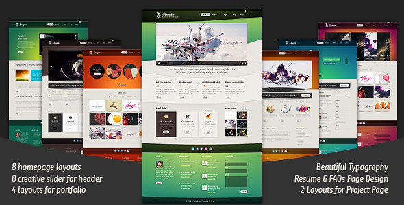Advantico Responsive website Template
