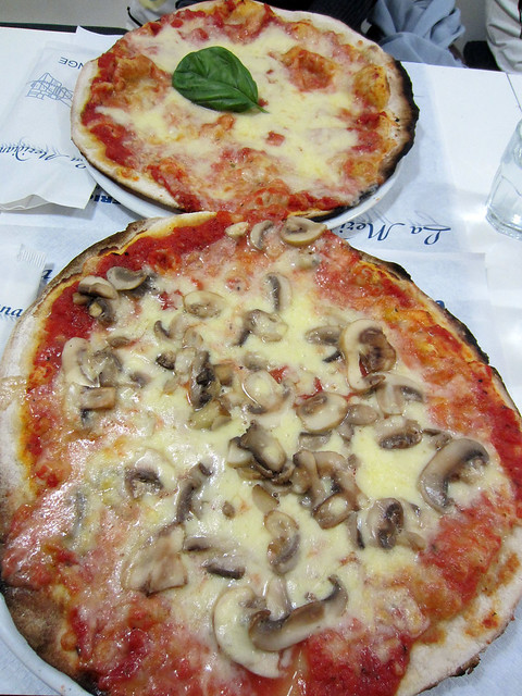 La Meridiana pizza