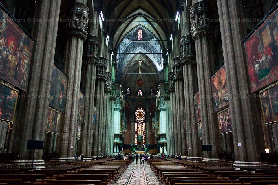 Cathedral Of Milan (Duomo) @ Milan, Italy