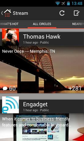 Google+ para Android se actualiza