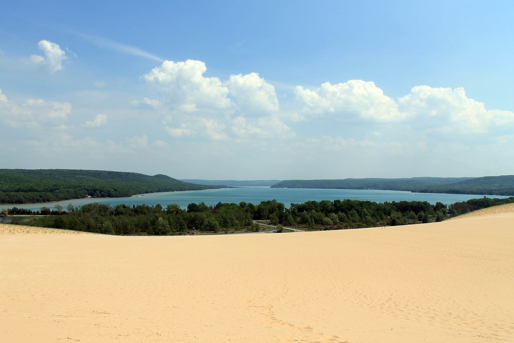 Sleeping Bear Dunes | Traverse City Celebration: Part Two | Wading in Big Shoes