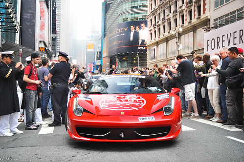 This is... The Gumball 3000.