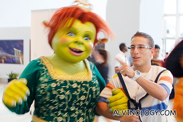 Princess Fiona from Shrek spotted
