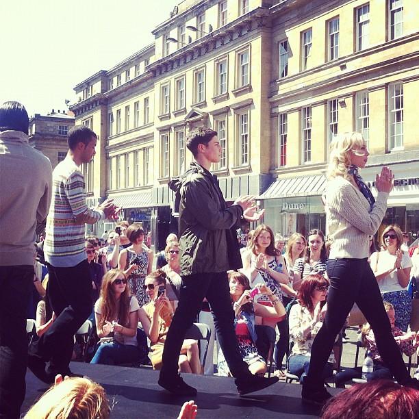 Newcastle Fashion Week Barbour Show #newcastle #nefollowers