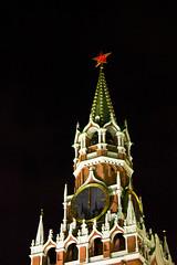 Minuit sur la Spasskaya Tower