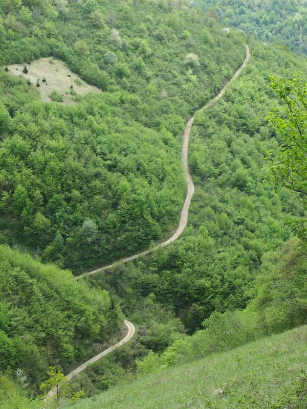 Montagnes autour de Skakavac