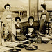 Geiko Tomigiku  and Friends on a Summer Balcony 1920 by Blue Ruin 1