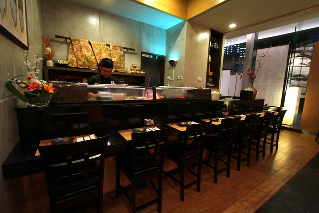 Akari Dining & Bar: Interior