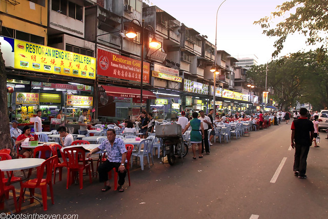 Jalan Alor Eating Street