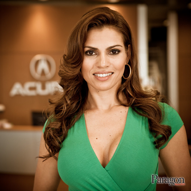 Damaris Diaz Photo Shoot At Paragon Acura - 02