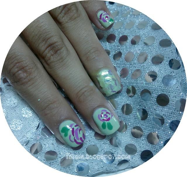 Çiçekli Tırnaklar (4)