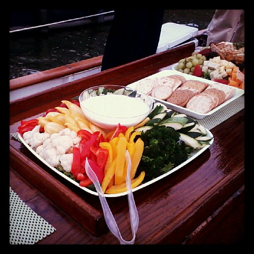 Crudite on Sailboat #latergram