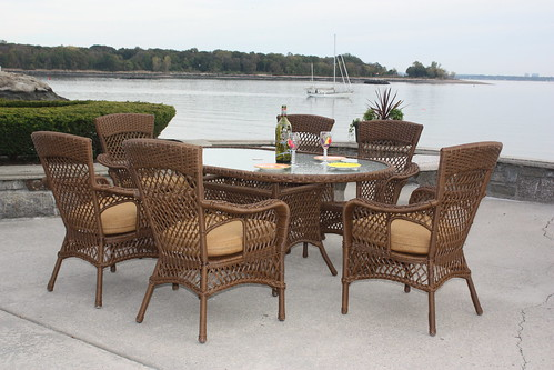 7362870286 510b44f189 Savannah Outdoor Wicker Dining Set