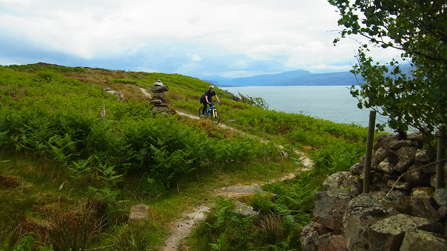 HB on the Culnacraig trail.