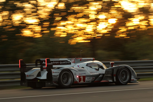 24 horas de Le Mans 2012: resumen de las primeras 7 horas, Audi lidera con Toyota muy cerca
