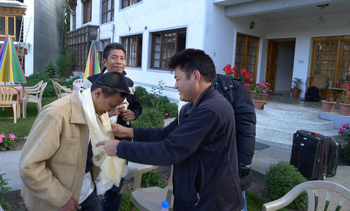 Perpisahan dengan Rinchen Namgyal