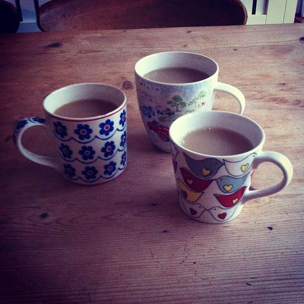 Mugs of victory tea