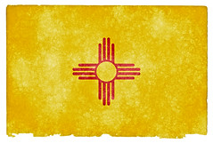 New Mexico Grunge Flag