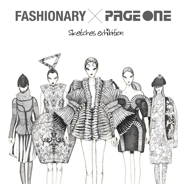 7413454354 9830316a1e z FASHIONARY X PAGEONE EXHIBITION