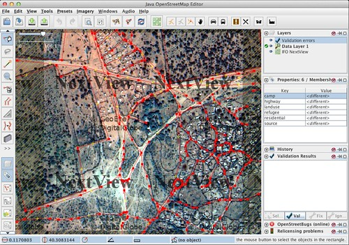 Refugee camp mapping