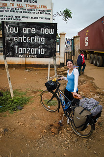 You are now entering Tanzania