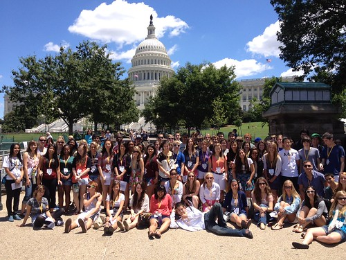 NSLC LAWA Students Visit Capitol Hill