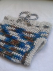 Small crochet wool soaker- 2nds