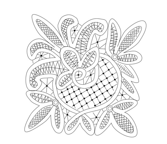 June's RPLA free pattern. I hope people are enjoying these patterns ...