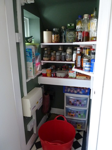Pantry completed